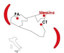 Mappa Centro Operativo di Messina