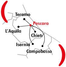 Mappa Filiale di Pescara