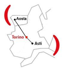 Mappa Filiale di Torino