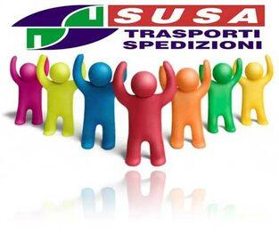 Susa spedisce e consegna in tutta Italia, qualsiasi merce, anche in 24 ore. H24
